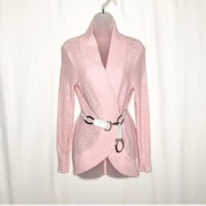 Lilly Pulitzer open front rounded Amalie cardigan